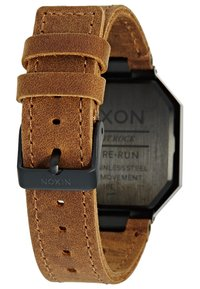 Nixon - RE-RUN - Digitální hodinky - black / brown - 3