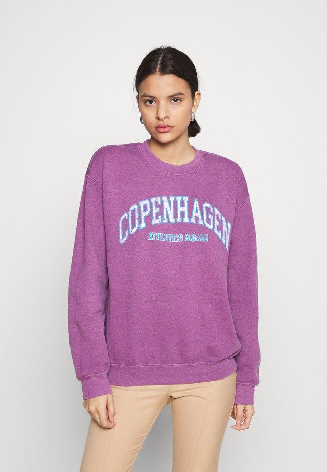 COPENHAGEN - Sweatshirt - plum