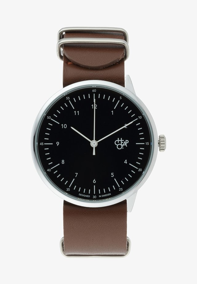 HAROLD - Montre - dark brown