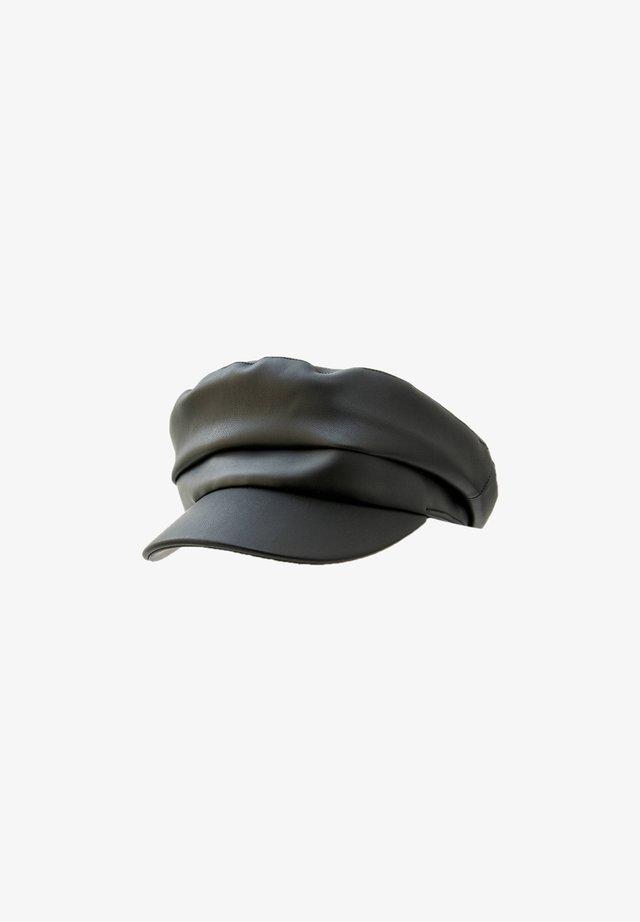 Beanie - mottled black