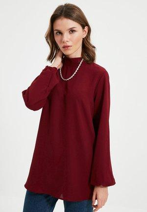 Blouse - burgundy