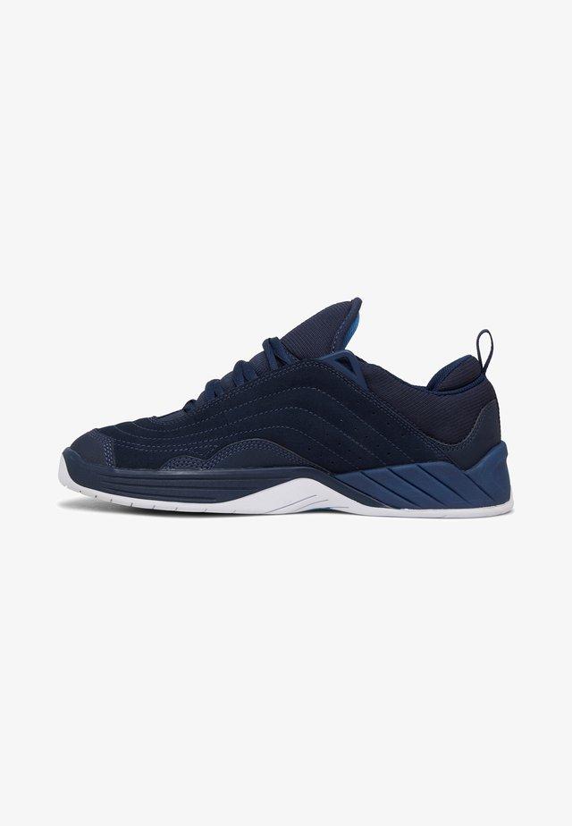 WILLIAMS SLIM - Sneakersy niskie - navy/carolina blue