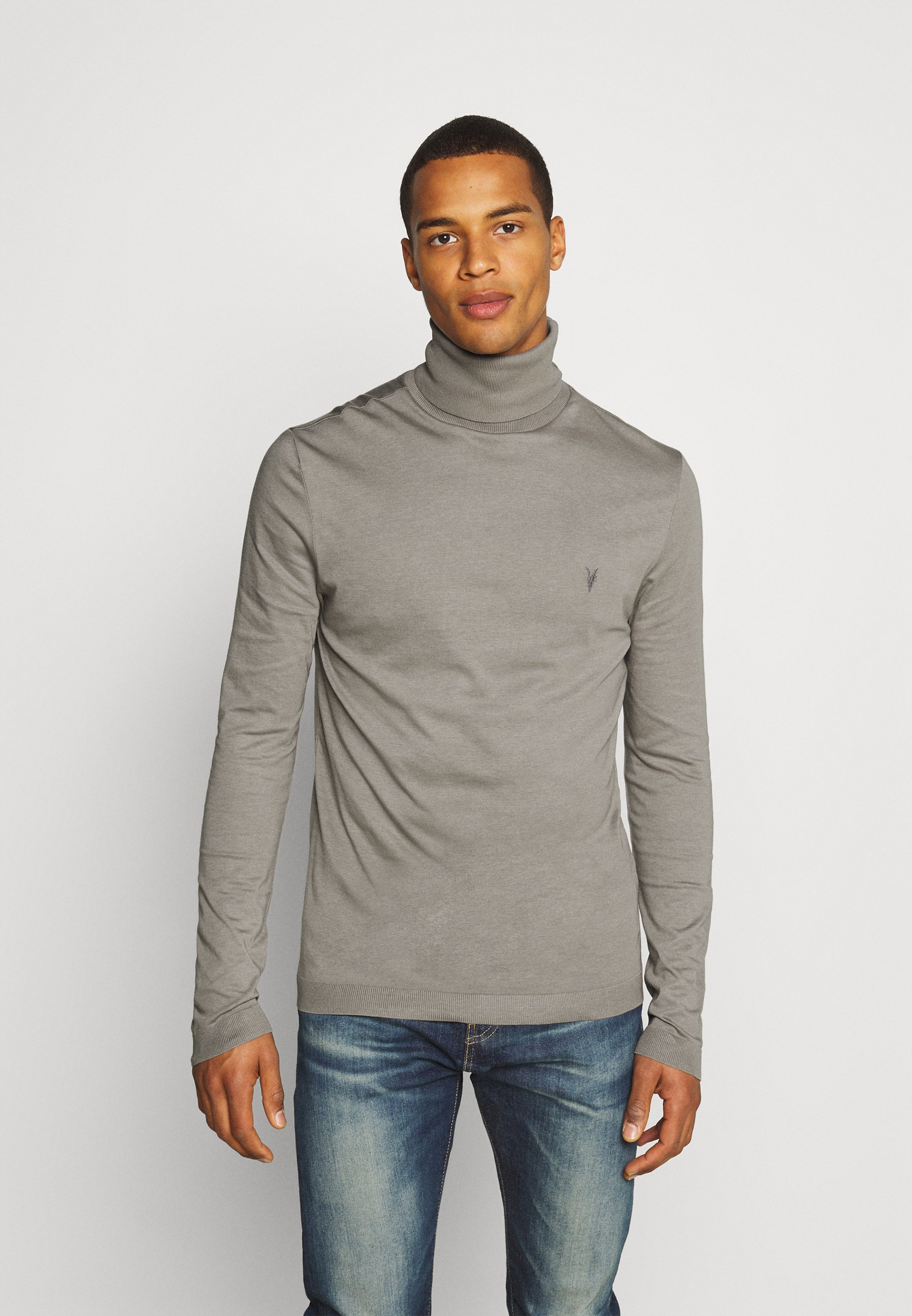 Men PARLOUR ROLL NECK - Long sleeved top