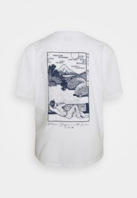 Edwin - FUJI SCENERY - Print T-shirt - white - 1