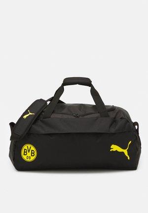 BVB FINAL TEAMBAG M - Klubbklær - black/safety yellow
