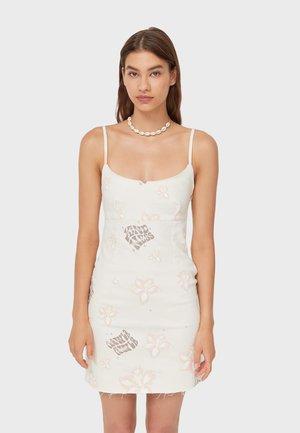 MIT BLUMENPRINT  - Day dress - white