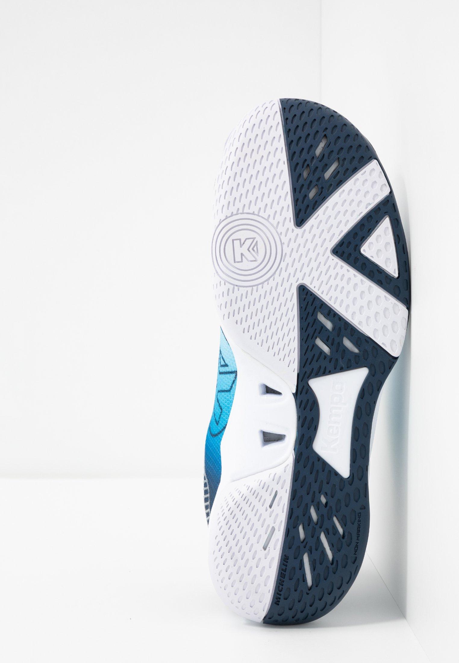 Offerta limite a buon mercato Scarpe da uomo Kempa WING 2.0 Scarpe da pallamano white/navy