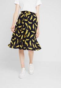 Louche - MATILDA BANANA - A-line skirt - navy - 0