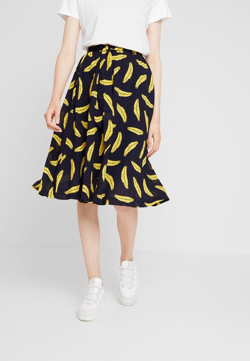 Louche - MATILDA BANANA - A-line skirt - navy