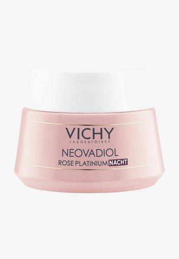 VICHY GESICHTSPFLEGE NEOVADIOL ROSE PLATINIUM NACHT - Face cream - -