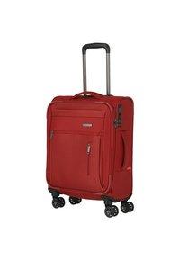 Travelite - 4 PCS - Wheeled suitcase - red - 2