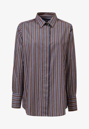 Skjortebluser - brown multi stripe