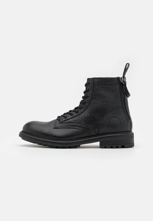 CLAYTON  - Lace-up ankle boots - black