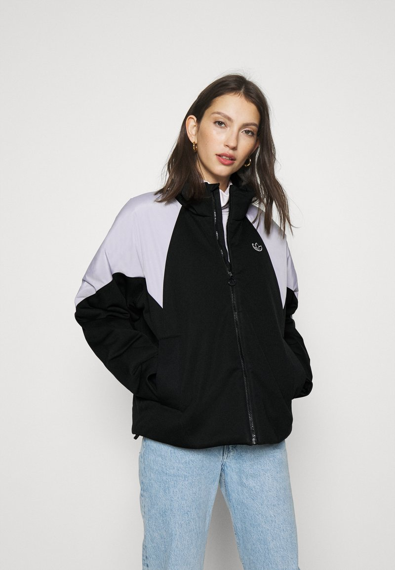 adidas Originals - SHORT PUFFER - Winter jacket - black