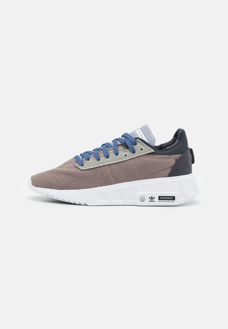 adidas Originals - GEODIVER - Sneakers basse - halo silver/core black/footwear white