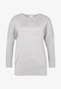 MILA NECK - Trui - pearl grey