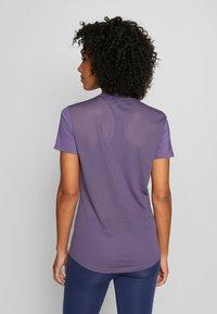 adidas Performance - DESIGN 2 MOVE LOGO TEE - Print T-shirt - tech purple/white - 2