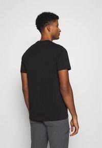 Black Diamond - POCKET LABEL TEE - T-shirts - black - 2