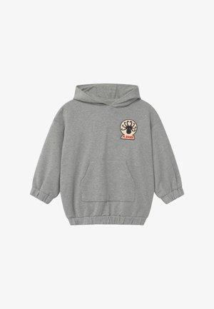 OCTOPUS PATCH HOODIE - Sweatshirt - grey