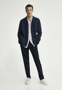 Massimo Dutti - Trousers - blue-black denim - 1