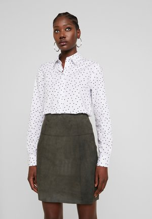 Button-down blouse - dunkelblau