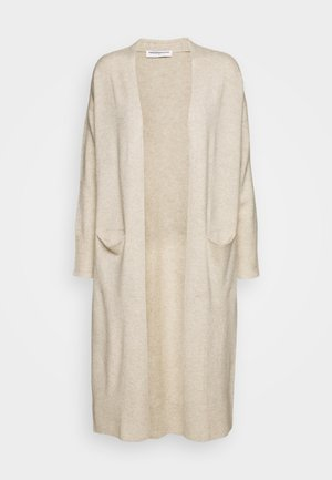 LONG CARDIGAN - Vest - oatmeal