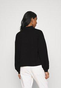 Vero Moda - VMALFIE DROP SHOULDER - Maglietta a manica lunga - black - 2