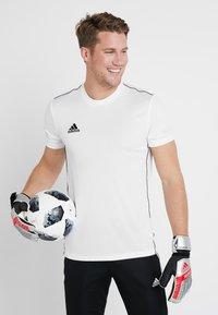 adidas Performance - PRED - Goalkeeping gloves - silver metallic/black - 0