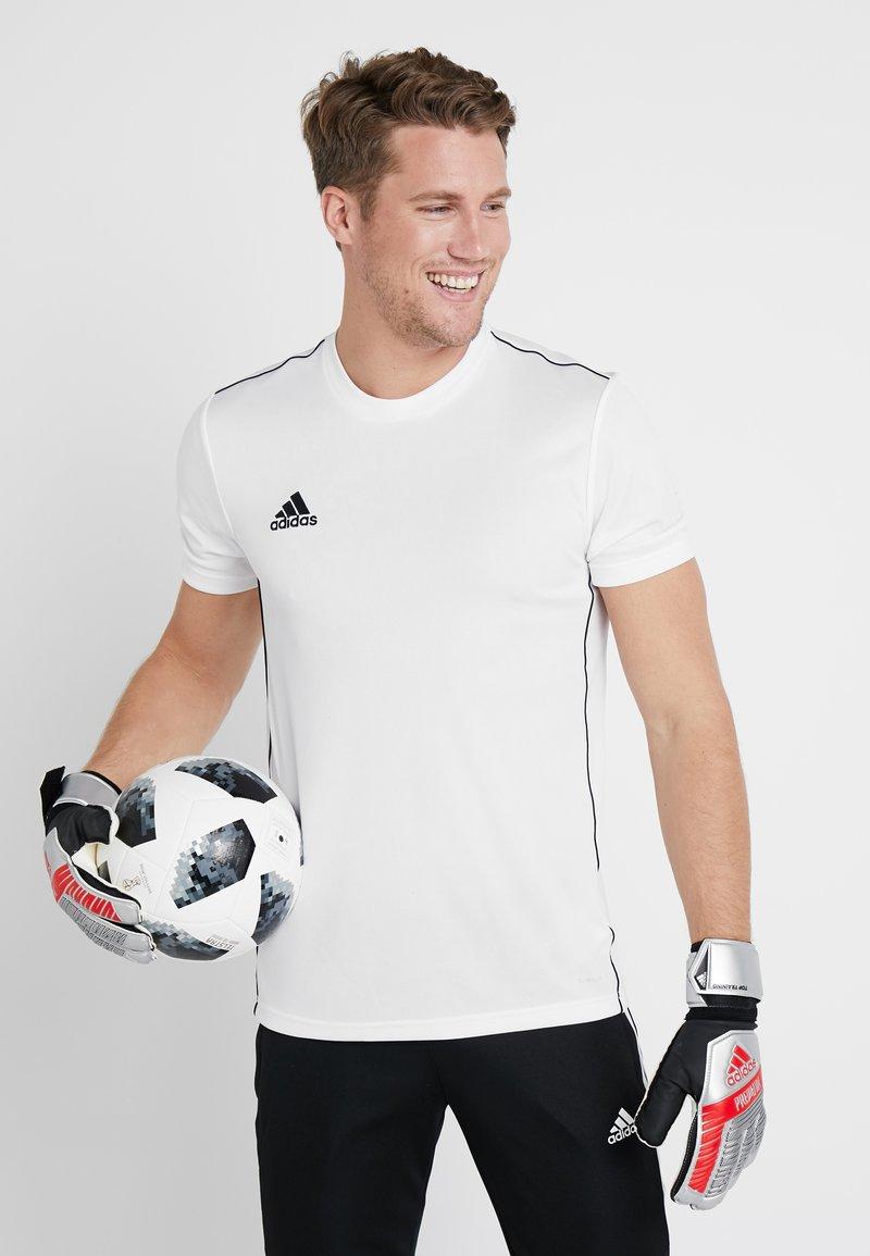 adidas Performance - PRED - Goalkeeping gloves - silver metallic/black