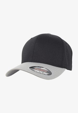 FLEXFIT WOOLY COMBED 2-TONE - Cappellino - black/silver