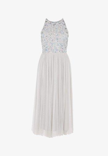 MALIN EMBELLISHED SEQUINS  - Cocktail dress / Party dress - light grey