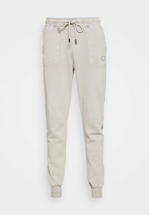 ESSENTIAL DISTRESSED - Träningsbyxor - washed powder grey
