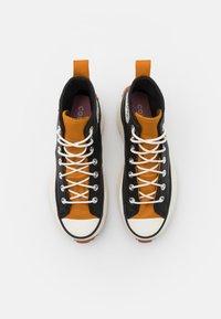 Converse - RUN STAR HIKE - High-top trainers - black/saffron yellow/egret - 6