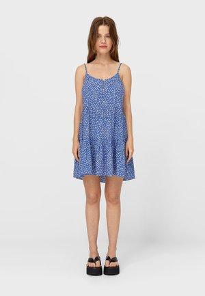 MIT MARGERITEN  - Shirt dress - light blue