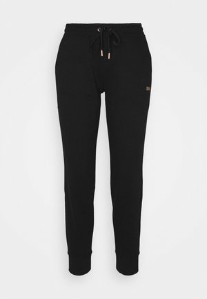 LOGO JOGGER - Tracksuit bottoms - black