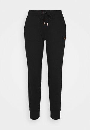 LOGO JOGGER - Teplákové kalhoty - black