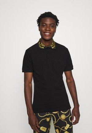 Polo shirt - nero/oro
