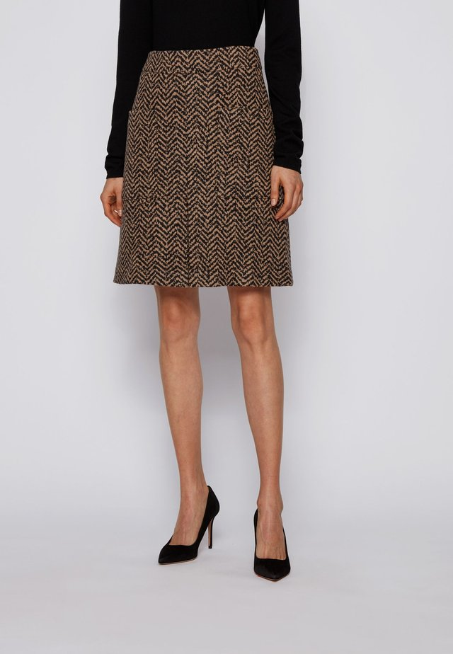 C_VACEVY - A-line skirt - patterned
