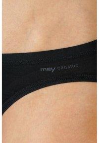 mey - MINI SLIP SERIE ORGANIC - Briefs - schwarz - 2