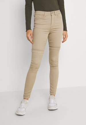 JDYLARA LIFE - Jeans Skinny Fit - simply taupe