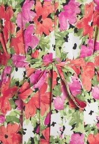 Vila - VIAMORA 3/4 BELT MEDI DRESS - Vestido informal - black - 2