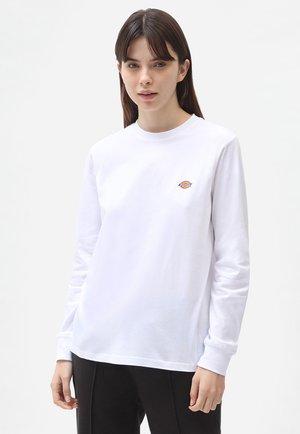 LS MAPLETON TEE W - Langærmede T-shirts - white