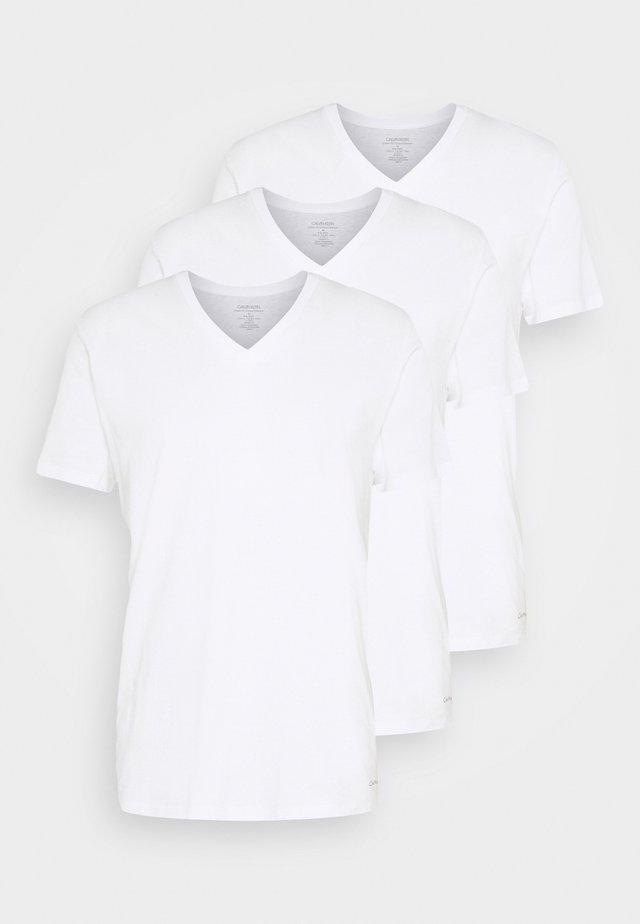 CLASSICS V NECK 3 PACK - Undertrøjer - white