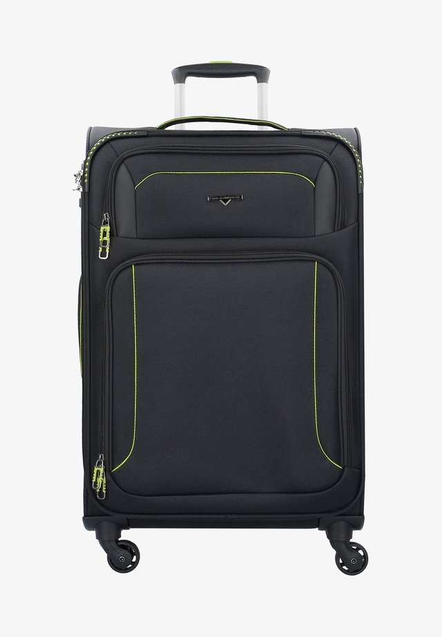 AIRSTREAM - Wheeled suitcase - black lemon