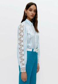 Uterqüe - Button-down blouse - multi-coloured - 4