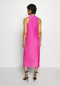 Who What Wear - PLISSE DRESS - Occasion wear - pink - 2