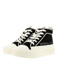 KENDALL + KYLIE - Sneakers hoog - black-white - 2