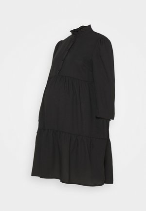 PCMLULLA DRESS - Shirt dress - black