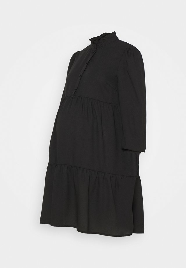 PCMLULLA DRESS - Abito a camicia - black