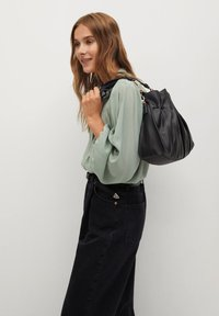 Mango - MINT - Button-down blouse - vert pastel - 3
